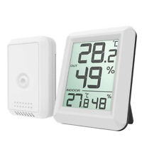 AM_ CN_ Digital LCD Wireless Thermometer Hygrometer Monitor Outdoor Indoor with