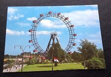 POSTCARD: (NR.425): VIENNA: THE PRATER AND THE GIANT WHEEL: UN POSTED
