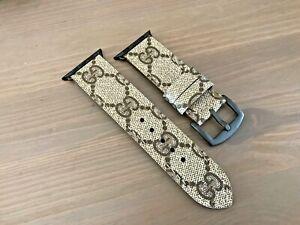 Apple Watch Gucci handmade strap