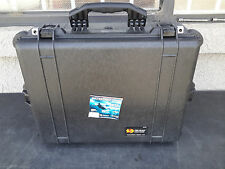 Pelican 1600 Case with Foam (Camera, Gun, Equipment, Multi-Purpose) - Black