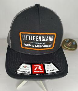 Little England Farm & Mercantile Gloucester, VA Truckers FlexFit L-XL Hat