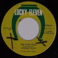 JOHNNY ELLIS: Ten Foot Pole USA Lucky Eleven PROMO 45 Country Bopper MP3