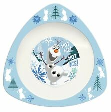 Disney Frozen Movie 'Olaf' Triangle Dinner Lunch Bowl Brand New Gift