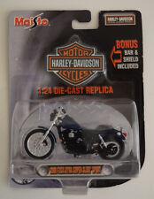 Maisto Harley Davidson Collector Blue 1:24 2000 FXDX Dyna Super Glyde Sport