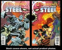 Convergence: Superman: Man of Steel 1 2 Complete Set Run Lot 1-2 FN