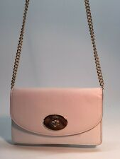 COACH CLUTCH WALLET WITH CHAIN IN SMOOTH LEATHER BAG HANDBAG