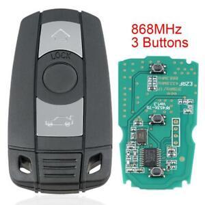 Remote Car Key Entry Fob Keyless 868MHz For BMW CAS3 X5 X6 Z4 1/3/5/6/7 Series