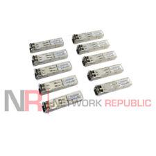 LOT of 10 - Juniper EX-SFP-1GE-SX SFP 740-011613 Optical Transceiver Modules