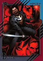 BLADE / 2015 Marvel Fleer Retro (Upper Deck) BASE Trading Card #07