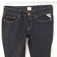 Damen Damen Replay WX648 Vicki Stretch Slim Straight Jeans W28 L32 UK Größe 8