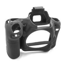 Hülle Case Schutzhülle Silikon schwarz für Nikon D750
