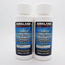 KIRKLAND MINOXIDIL 5% MENS HAIR LOSS TREATMENT 2 MONTHS Exp 02/2020 NO DROPPER