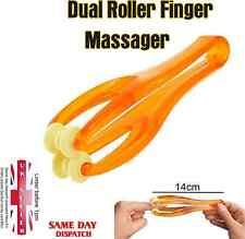 Rodillos de masaje rodando las articulaciones del dedo doble masajeador de mano para teclado usuario MW