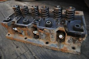 Cylinder Head TM20 Continental - New Holland L554 Skid Steer