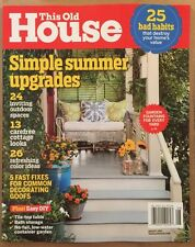 This Old House Bad Home Owner Habits Garden Fountains August 2015 FREE SHIPPING!