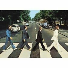 The Beatles Abbey Road Album Cover Postcard 100 Genuine Official Merchandise