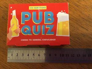 Pub Quiz Cards Family Party Game BNIP