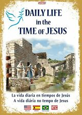 Daily Life in the Time of Jesus -In 3 Languages English,Spanish,Portuguese DVD