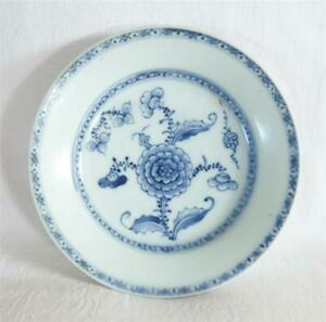 ANTIQUE EARLY 19THC CHINESE PORCELAIN DEEP PLATE / BOWL FROM TEK SING CARGO 1822