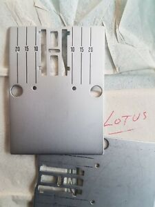 ELNA LOTUS NEEDLE PLATE - BRAND NEW -  SIGN FOR POSTAGE..