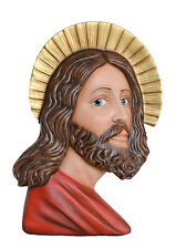 STATUA VOLTO SANTO da Parete JESUS Holy Face  For WALL Fiberglass Cm. 50- 20inch