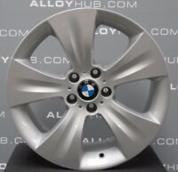 "GENUINE BMW X5 E70 E53 LA STAR SILVER SPOKE 213 19"" INCH MSPORT ALLOYS WHEELS X4"