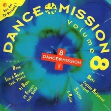 Dance Mission 8 (1995) Dune, Jam & Spoon, 20 Fingers, Moby, Scooter, E-Ro.. [CD]