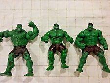 Marvel Comics  Universal The Hulk Movie 2003 Incredible Hulk Action figure lot