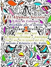 El Alfabeto Secreto Libro de Colorear Diseñado Por el Artista Grace Divine...