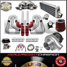 Turbo Kit T3/T4 for Nissan SR20 240SX S13 S14 200SX S12 IC PK WG BOV Manifold RD