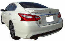 PAINTED SPOILER FOR A NISSAN ALTIMA 4-DOOR FACTORY STYLE FLUSH MOUNT 2016-2018