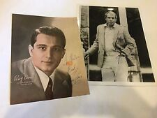Perry Como Signed Autograph 8x10 photo - crooner- Singer