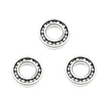 3x 6208 Single Row Deep Groove Ball Bearings - 40x80x18 mm