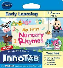 Vtech InnoTab Software Early Learning My First Nursery Rhymes Ages 1-3