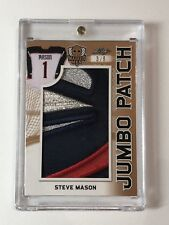2017-18 Leaf Masked Men - Jumbo Patch - Steve Mason - 3/6