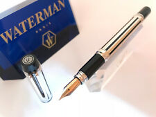 "WATERMAN | Füllhalter Man 200 ""Night & Day"" Sterling Silber/schwarz"