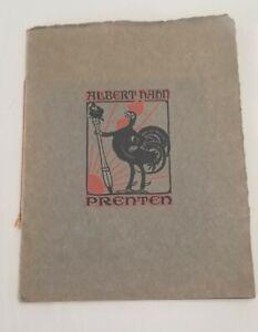 Rare 1906 Print Collection (16) Of Albert Hahn - Dutch Political Satire