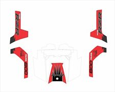 Polaris RZR RANGER 570 800 900 xp GRAPHICS DECAL WRAP DOORS UTV SIDE X  red 800