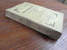 SILVIO PELLICO / MES PRISONS + Discours sur les devoirs hommes Charpentier 1853