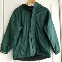 Pacific Trail Pac Tech Performance Rain Jacket Youth Large Green Hydro Vent