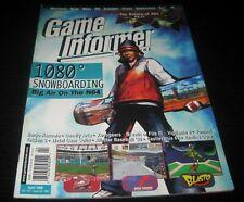 Vintage Game Informer Magazine Nintendo PS Playstation video games 1998 issue 60