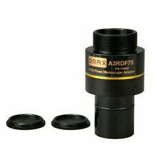 Microscope Camera Adapter Reduction Lens 0.75X Standard C-mount and OD 23.2mm