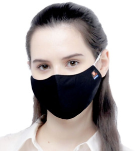 3 x 3 Ply Reusable Face Mask, Antibacterial, 30 x Washable, Soft & Comfortable