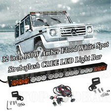 LED Work Light Bar 180w 33Inch 12v,24v 4x4 4WD Offroad Car For Truck Jeep GMC 32