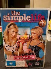 Simple Life - Til Death Do Us Part : Season 4 DVD 2007 2-Disc Set Paris Hilton