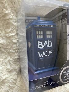 Doctor who Bluetooth Bad Wolf  tardis  Speaker Model With Lights And Sounds