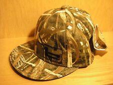 "Banded Gear ""b"" Logo MAX 5 Flat Bill Cotton Twill Hat Cap Down Low Logo"