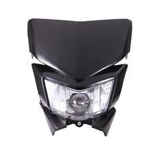 Black  Motorcycle Headlight Fairing Kit For Kawasaki KLX 450R KLR 250 650