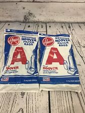 NEW Genuine Hoover Type A Vacuum Filter Bags Total of 5 Bags