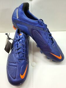 Nike 10.5 US CTR360 Maestri I FG Soccer Cleats Blue 429995-414 **SUPER RARE**